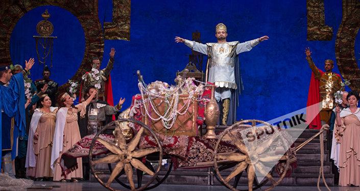 Постановка Аршак II в Национальном академическом театре оперы и балета им. Спендиаряна