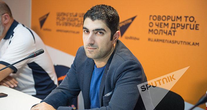Директор баскетбольного клуба Урарту Артур Назарян