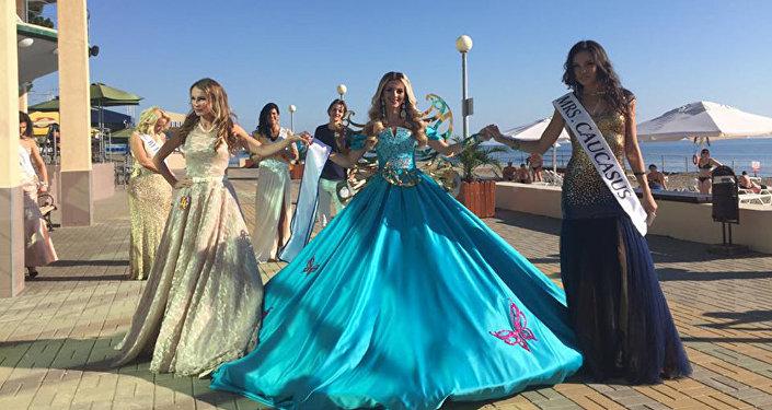 Анна Демирханян представила Кавказ на конкурсе Миссис Европа-2016