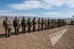 Совместные батальонные тактические учения военнослужащих российской военной базы ЮВО и военнослужащих ВС МО РА