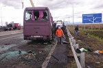 Пострадавшие в ДТП на трассе Владикавказ-Беслан