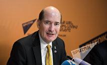 Майкл Хесеман. Пресс-конференция в Sputnik Армения