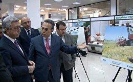 Президент Армеии посетил специализированную выставку АРМПРОДЭКСПО