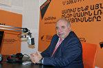 Арагац Ахоян в гостях у радио Sputnik Армения