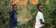 Дети. Африка