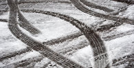 В Ереване пошел первый снег, 2016г.