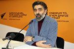 Вреж Касуни в пресс-центре Sputnik-Армения