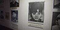 Стенд в музее Мать-Армения, посвященный женщинам, воевавшим в нагорно-карабахской войне