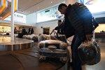 Как пассажиры получают багаж в аэропорту Звартноц