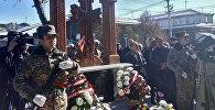 В Гюмри открылся хачкар в память о погибшем во время апрельской войны в Карабахе военнослужащем Викторе Юзиховиче