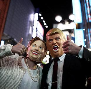 Трамп или Клинтон. Рейтинг кандидадов