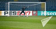 Предматчевая тренировка Сборной Армении по футболу. Арсен Бегларян