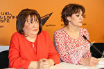 Пресс-конференция, приуроченная ко Всемирному дню борьбы с диабетом. Ирина Марутян и Сусанна Алексанян