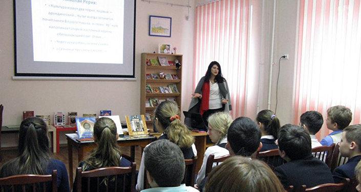 В библиотеке-филиале N10 Калининского района