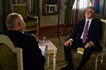 Президент Армении Серж Саргсян дал интервью генеральному директору МИА Россия сегодня Дмитрию Киселеву для Sputnik Армения