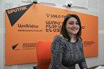Илона Овакмян в гостях у Sputnik Армения