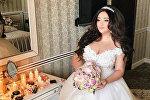 Гоар Аветисян в свадебном платье