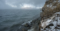Озеро Севан зимой