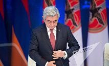 XVI съезд РПА. Президент Армении и РПА Серж Саргсян