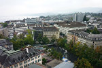 Вид на швейцарский Цюрих