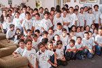 Воспитанники детского дома Трчунянц