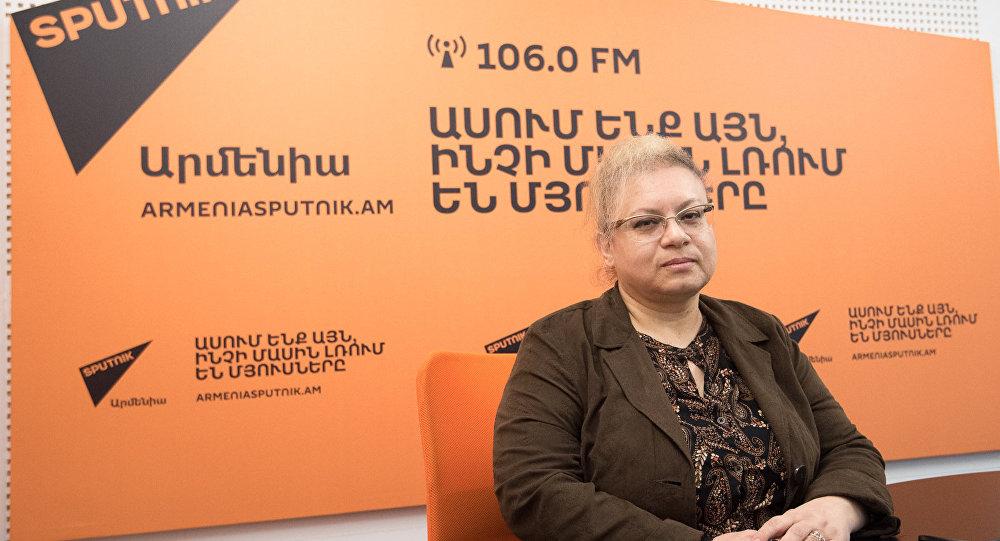 Лилит Аветисян в гостях у радио Sputnik Армения