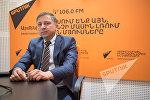 Генеральный директор авиакомпании Армения Роберт Оганесян в гостях у радио Sputnik Армения