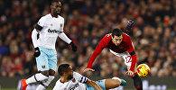 Генрих Мхитарян во время матча Манчестер Юнайтед - Вест Хэм