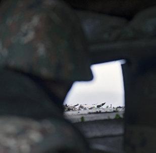 Армянский военнослужащие