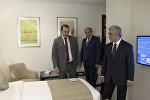 Президент Армении принял участие в открытии нового отеля в курортном Цахкадзоре