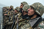 Военнослужащие одной из воинских частей Тавушской области Армении