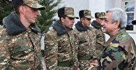 Президент Серж Саргсян с рабочим визитом посетил Нагорный Карабах