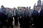 Визит Гагика Царукяна в Гюмри