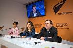 Видеомост Ереван - Москва на тему: XIX Всемирный фестиваль молодежи и студентов. Ованес Манукян и Гоар Гумашян