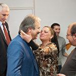 Кудзаев с коллегами после встречи