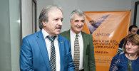 Встреча осетинского врача Казбека Кудзаева с армянскими пациентами и коллегами спустя 28 лет после Спитакского землетрясения в 1988 году