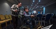 Российская компания ПКБ Соло подарила армянскому детдому велотренажер для реабилитации детей с ДЦП