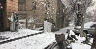Взорванный банкомат на улице Сарьяна