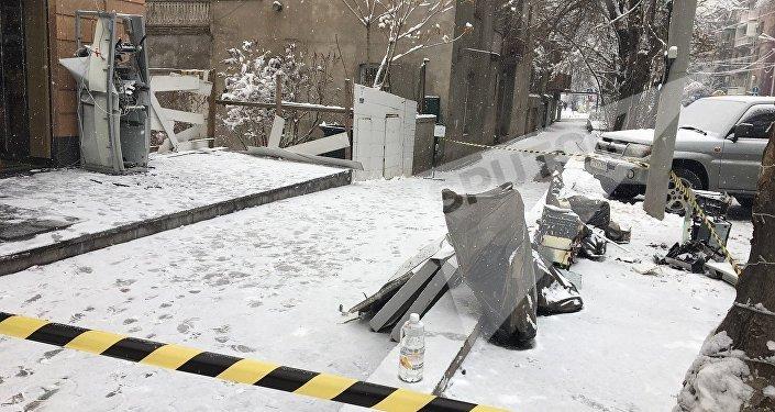 Совершены нападения набанковские заведения ибанкоматы вцентре Еревана