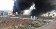 В Сирии боевики сожгли семь предназначенных для эвакуации автобусов