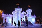 Ледяной городок открыт для ереванцев и гостей столицы