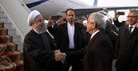 Президент Ирана Хасан Роухани прибыл в Армению
