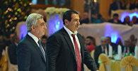 Серж Саргсян и Гагик Царукян