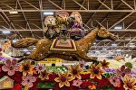В калифорнийском городе Пасадина в 128-й раз прошел ежегодный Парад роз