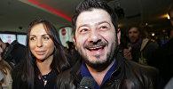 Шоумен Михаил Галустян с супругой Викторией