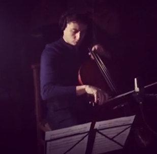 Нарек Ахназарян записывает саундтрек для нового фильма Кустурицы