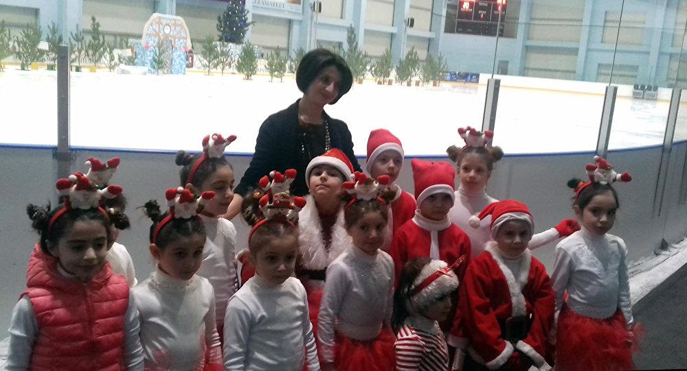 Фигурное катание становится массовым видом спорта в Армении
