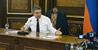 Пресс-конференция Карена Карапетяна