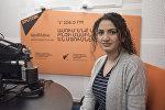 Алина Хачатрян в гостях у радио Sputnik Армения
