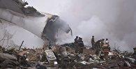 Грузовой самолет турецкой авиакомпании упал на жилые дома в селе Дача-Суу Чуйской области